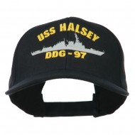 USS Navy Arleigh Burke Class Destroyer Military Cap - DDG97