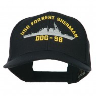 USS Navy Arleigh Burke Class Destroyer Military Cap - DDG98