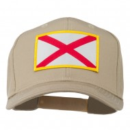 Eastern State Alabama Embroidered Patch Cap - Khaki