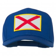 Eastern State Alabama Embroidered Patch Cap - Royal