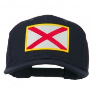 Eastern State Alabama Embroidered Patch Cap - Navy