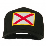 Eastern State Alabama Embroidered Patch Cap - Black