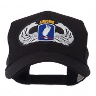 Air Borne Wing Shape Patched Mesh Cap - 173rd