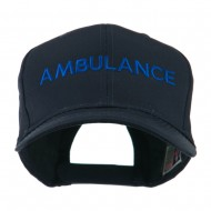 Ambulance Embroidered Cap - Navy