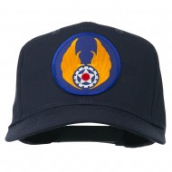 Air Force Air Material Patched Cap - Navy