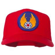 Air Force Air Material Patched Cap - Red