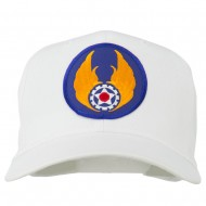 Air Force Air Material Patched Cap - White