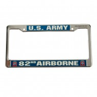 Air Force 3D License Frame - 82nd