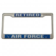 Air Force 3D License Frame - Retired