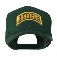 Air Force Unit of Airborne Embroidered Cap - Green
