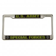 Army 3D License Plate Frame - Special