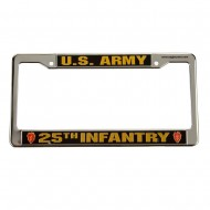 Army 3D License Plate Frame - 25th