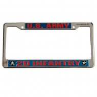 Army 3D License Plate Frame - 2nd