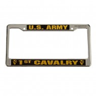 Army 3D License Plate Frame - 1st