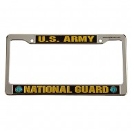 Army 3D License Plate Frame - Guard