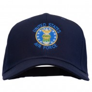 US Air Force Logo Embroidered Cap - Navy