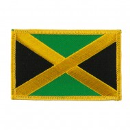 America Flag Embroidered Patches - Jamaica