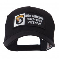 Air Borne Rectangle Military Patched Mesh Cap - 101st