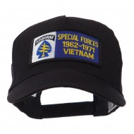 Air Borne Rectangle Military Patched Mesh Cap - Special Force