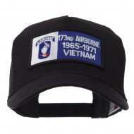 Air Borne Rectangle Military Patched Mesh Cap - 173rd