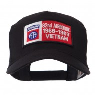 Air Borne Rectangle Military Patched Mesh Cap - 82nd