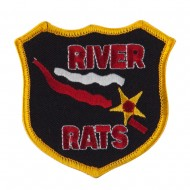 Army Shield Shape Embroidered Military Patch - River Rates