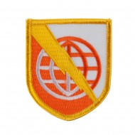 Army Shield Shape Embroidered Military Patch - Strat