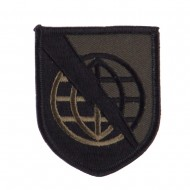 Army Shield Shape Embroidered Military Patch - Strat 2