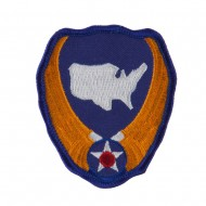 Army Shield Shape Embroidered Military Patch - Continental