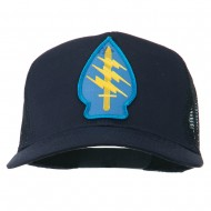 Army Special Force Patched Mesh Cap - Navy