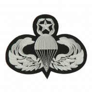 Air Borne Wing Shape Embroidered Military Patch - Parachutist