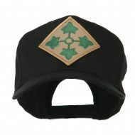 US Army Embroidered Military Patch Cap - 4th