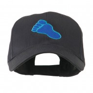 Bigfoot Track Mascot Embroidery Cap - Navy