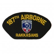 Air Bourne Military Large Patch - 187th Air