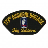 Air Bourne Military Large Patch - 173rd Air