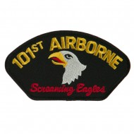 Air Bourne Military Large Patch - 101st Air