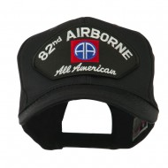 Air Bourne Military Large Patched Cap - 82nd Air
