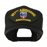 Air Bourne Military Large Patched Cap - 187th Air