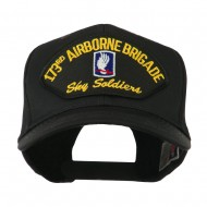 Air Bourne Military Large Patched Cap - 173rd Air