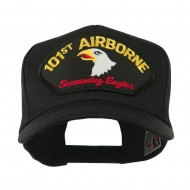 Air Bourne Military Large Patched Cap - 101st Air