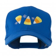Halloween Candies Embroidered Cap - Royal