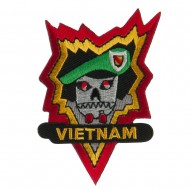 Combined Forces Embroidered Military Patch - Vietnam