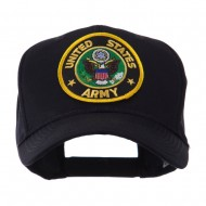 Army Circular Shape Embroidered Military Patch Cap - Army