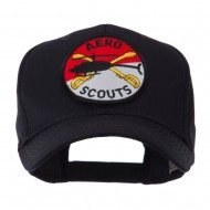 Army Circular Shape Embroidered Military Patch Cap - Aero
