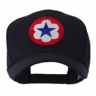 Army Circular Shape Embroidered Military Patch Cap - 9th