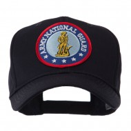 Army Circular Shape Embroidered Military Patch Cap - Guard