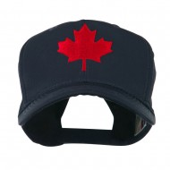 Canada's Maple Leaf Embroidered Cap - Navy