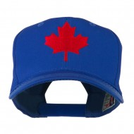 Canada's Maple Leaf Embroidered Cap - Royal