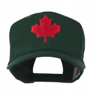 Canada's Maple Leaf Embroidered Cap - Green