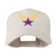 Army Air Corps Military Embroidered Cap - Stone